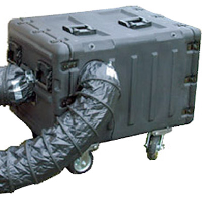 Tactical ECU provides hours of cooling in a portable rugged case.